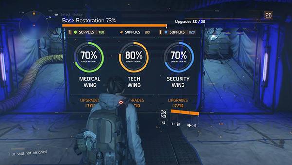 Division Base Upgrades 1