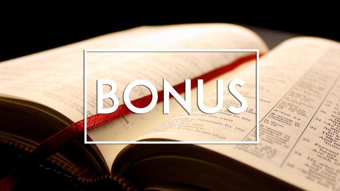 Bonus Round – Sola Scriptura