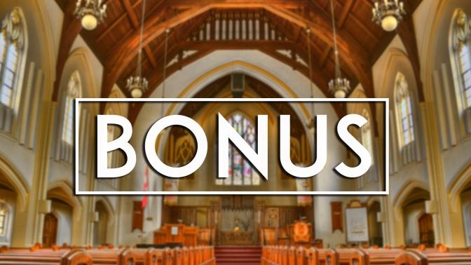 Bonus Round – Video Games & Church
