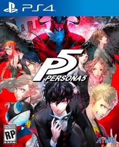 Persona5 Boxart